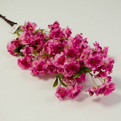 SILK ARTIFICIAL CHERRY BLOSSOM FLOWER 3 COLOURS WEDDING DECOR CENTREPIECES - Cherry Blossom Centerpieces