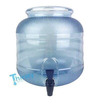 Plastic Water Crock Pot Dispenser Faucet Valve Spigot Jug PC Aqua Drinking H2O