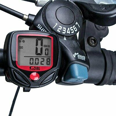 Waterproof Bicycle Bike Cycle LCD Display Digital Computer Speedometer Odometer Bicycle Electronics