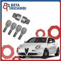 Fiat 500L Trekking 11.2012/> Kit Bulloni Antifurto Stil-Bull Farad Cerchi in Lega