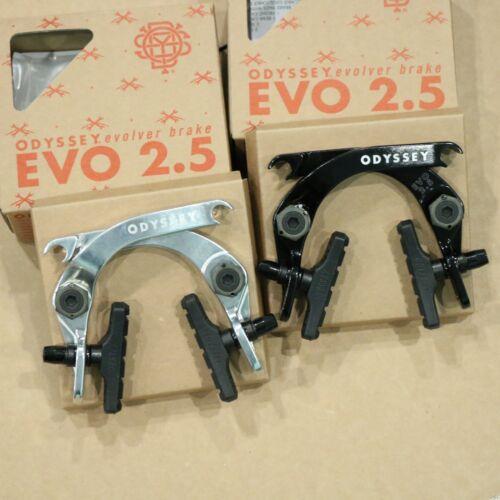 ODYSSEY BMX BIKE EVO 2.5 BLACK BICYCLE U-BRAKE EVOLVER
