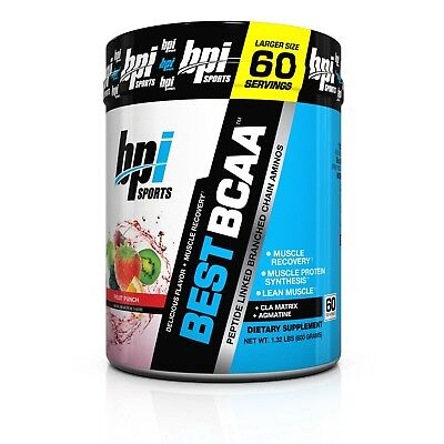 <NEW> BPI SPORTS BEST BCAA 60 servings Agmatine Aminos & Muscle