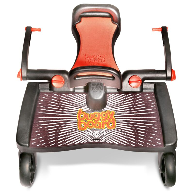 Lascal BuggyBoard Maxi + Pushchair / Pram / Stroller Stepboard - 2 Years To 20kg