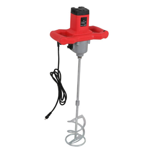 1600W Electric Plaster Cement Adhesive Render Paint Drywall Mortar Mixer Tool Business & Industrial