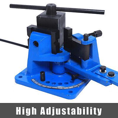 Universal Metal Rebar Bender Manual Flat Steel Iron Bender Sturdy Design Durable