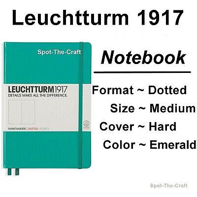 Leuchtturm1917 Dotted Journal Notebook Medium A5 Emerald Green 344792