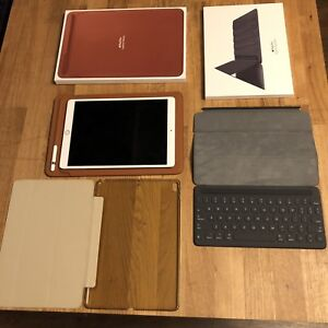 iPad 10.5 with pencil and keyboard case plus more