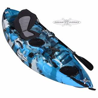 Dream Catcher 3 Fishing Kayak Flathead Camo