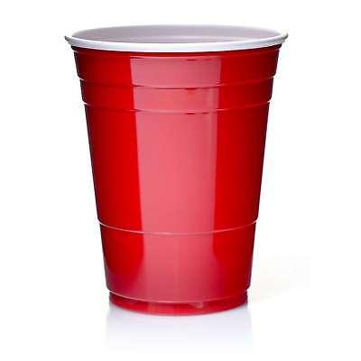 Solo Cups 16oz Rote Becher 473 ml Red Cup Original USA 100 Trinkbecher ()