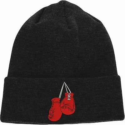 Ufc Embroidered Beanie - Embroidered Boxing Gloves Beanie, Boxer MMA UFC Boxing Hat