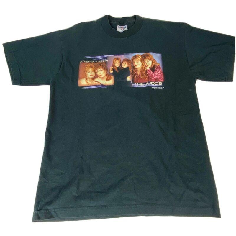 The Judds Duo Power to Change Unisex Black Graphic Concert T- Shirt Medium