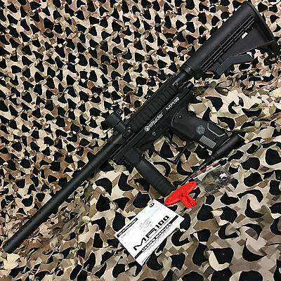 311e34afc56 NEW Kingman Spyder MR100 Pro Semi-Auto Tactical Paintball Gun - Diamond  Black