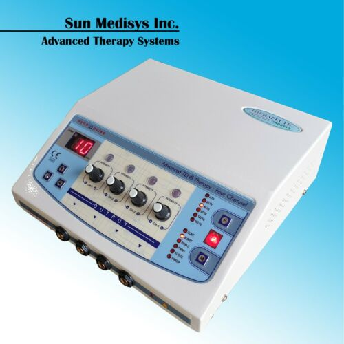 professional muscle stimulator TENS therapy machine musculoskeletal pain relief