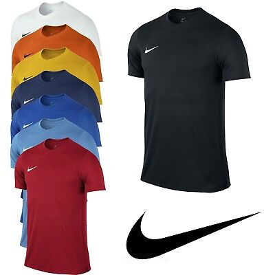 Nike Mens T Shirt Football Training Top Gym Sport Dri Fit Park Size S M L XL XXL