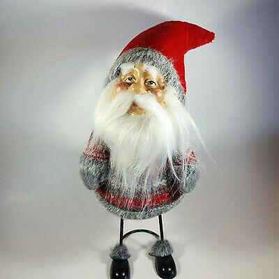 Santa Claus Gnome Large Stuffed Plush Christmas Standing XMAS Holiday Tomte Legs (Large Stuffed Santa Claus)