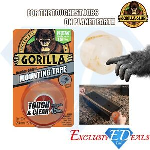 Gorilla Glue Heavy Duty Mounting Tape 60