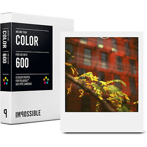Impossible Project Color Film for Polaroid 600 Type Camera PX680 Instant