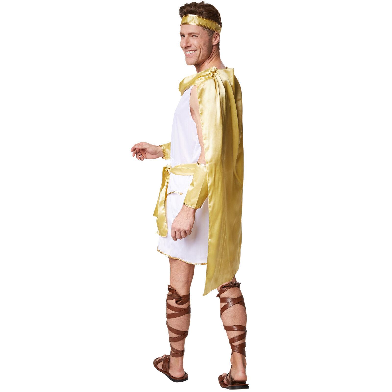 Römer Herren Kostüm Antike Imperator Römerkostüm Kaiser Toga Fasching Karneval