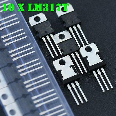 10pcs Lm317t Lm317 Voltage Regulator 1.2v To 37v 1.5a