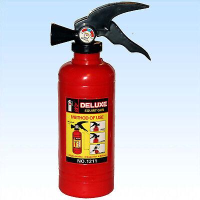 Feuerlöscher befüllbar für den Hobby Feuerwehrmann oder Faschingskostüme ()
