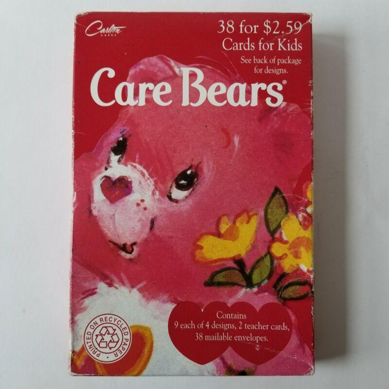Carlton Care Bears Valentine Day Cards Box Carebears Vintage 1995