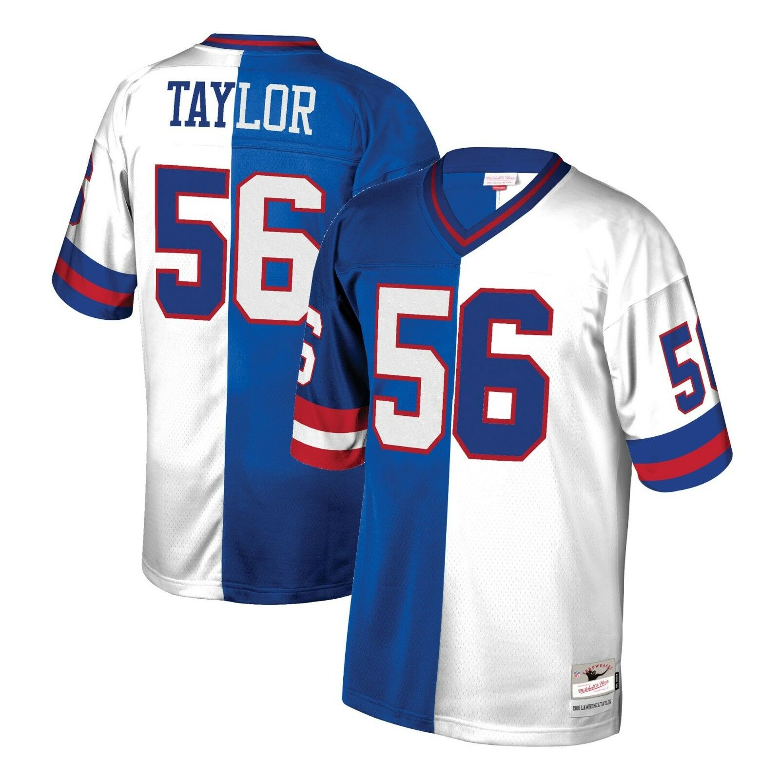 Details About Mitchell Ness Split Home Away Legacy Jersey New York Giants 1986 Lawrence Taylor