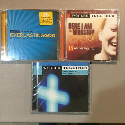 3 Modern Contemporary Praise/Worship CDs Redman/Camp/Mercyme/Kutless/Delirious Contemporary Christian Praise Music
