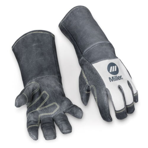 Miller Classic Pigskin MIG Gloves with 6 Inch Cuff (Large) (279875)