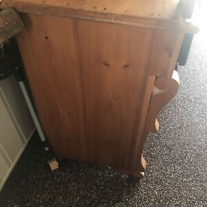 Antique wood cabinet! Wash stand!