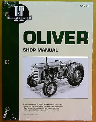 New Oliver Shop Manual For Tractor 55 66 77 88 99 770 880 990 995 O-201