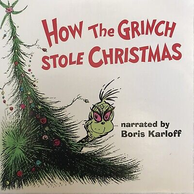 The Grinch Christmas Story 4 Added Songs Compact Disc CD Holiday Music ()