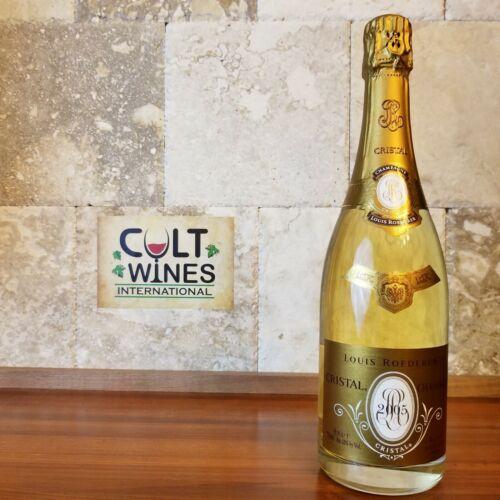 """WE 97 pts! 2005 Louis Roederer """"Cristal"""" Brut Champagne wine, France"""
