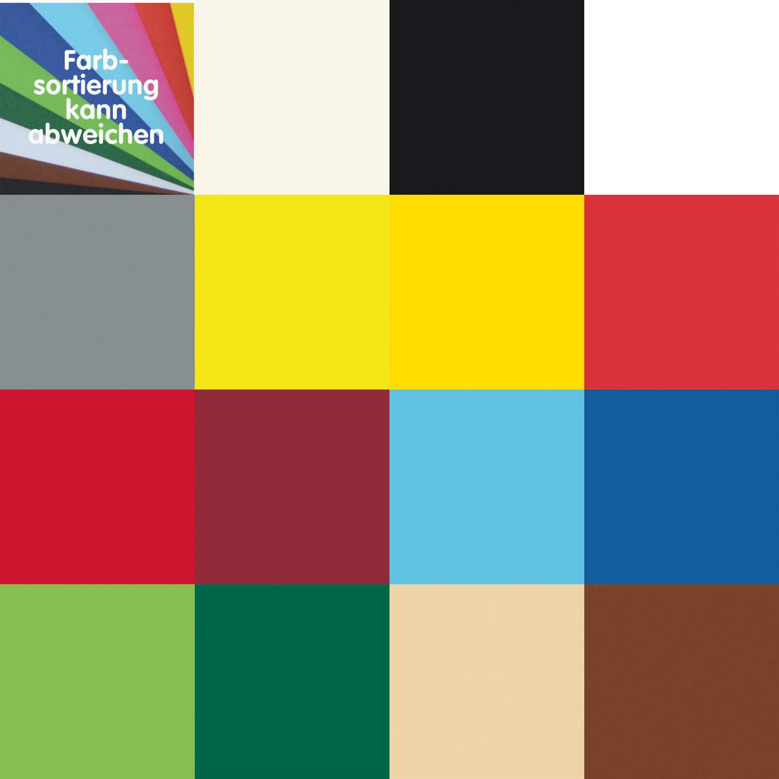 (1,86€/m²) FOTOKARTON DIN A4 - Packung á 50 Blatt, div. Farben von Folia 2131.30