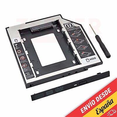9,5 mm Adaptador Disco Duro 2.5mm SATA para DVD SATA - [HDD...