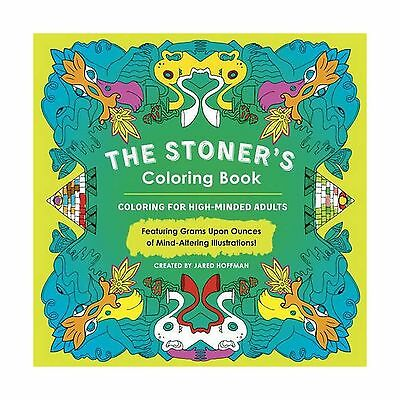 The Stoners Coloring Book  Coloring For High Minded Adults Free Shipping