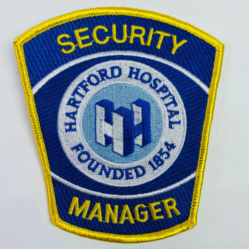 Hartford Hospital Security Manager Connecticut CT Patch (A1)