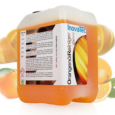 10 l Orangenölreiniger  Allesreiniger Polster Autoshampoo Autopflege Haushalt