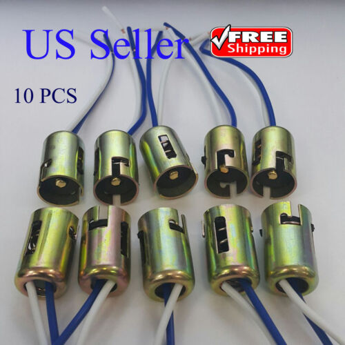 10 PCS 1156 P21W 1073 1141 7506 BA15s Light Bulb Socket Holder Wire Harness Car & Truck Parts