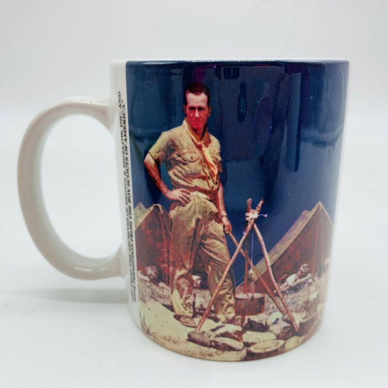 Boy Scouts of America Coffee Mug Norman Rockwell Image St. Louis Area Council