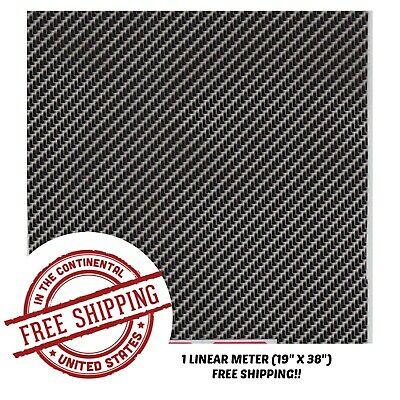 Hydrographic Film Water Transfer Hydro Dipping Dip Film 19 X 38 Carbon Fiber X