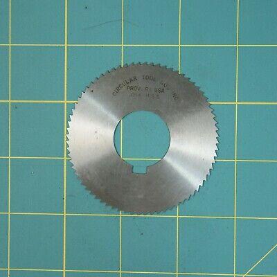 1one Slitting Slotting Saw Blade 0.016 X 2-1116 Hss Machinist Cutting Tooll