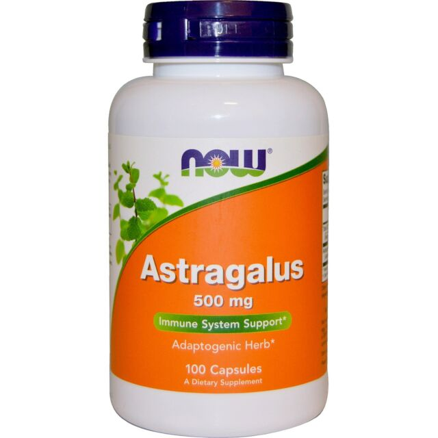 Now Foods, Astragalus, 500 mg, 100 Capsules