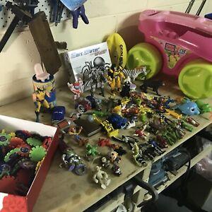 Sorted toys bulk