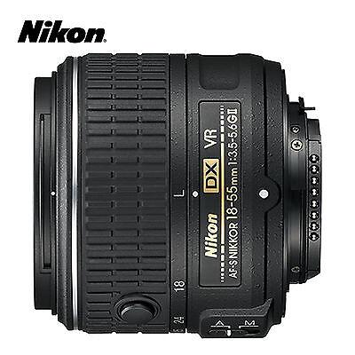 Nikon AF-S DX NIKKOR 18-55mm f/3.5-5.6G VR II Zoom Lens < Non-Retail Packaging >