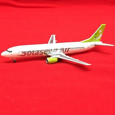 Gemini Jets, BOEING 737-400 SOLASEED AIR, Diecast Plane 1:400 Extreme Limited Ed