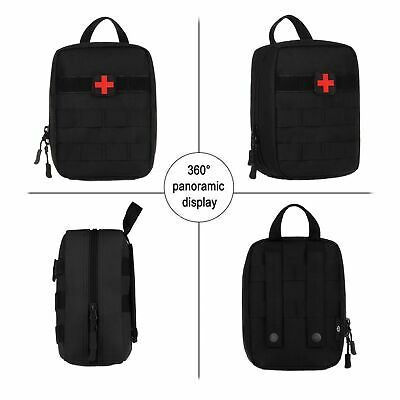 NEW TACTICAL FIRST AID KIT SURVIVAL MOLLE MILITARY MEDICAL BAG UTILITY EMT POUCH