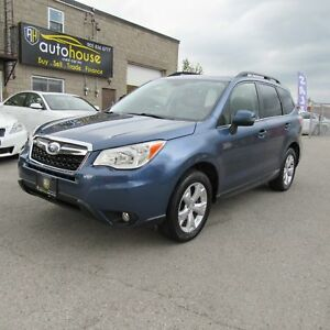 2014 Subaru Forester 2.5i Touring Package Touring,AWD,Leather...