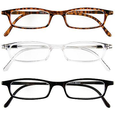 Signore degli uomini occhiali lettura Adam da + 1,0 FINO + 4,0 NUOVO