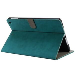 Teal Green Luxury Smart Cover Case for iPad mini 2 Retina, iPad mini 1