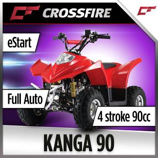 2018 CROSSFIRE KANGA 90CC ATV QUAD BIKE Jamisontown Penrith Area Preview